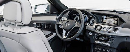 cockpit automovel mercedes class E 2013 interior
